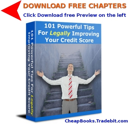 Product picture 101 Powerful Tips for Legally Improving Your Credit Score