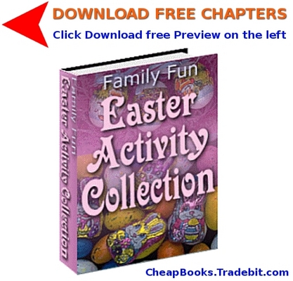 Product picture Family Fun. Easter Activity Collection with FREE CHAPTERS